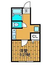 (仮)中町新築デザイナーズアパート[1階]の間取り