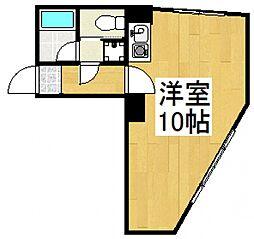 島田マンション[2階]の間取り