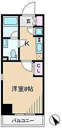 レグゼ東京ノース[10階]の間取り