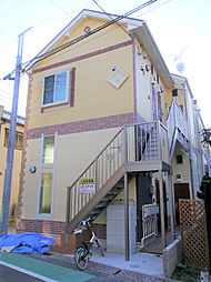 神奈川県川崎市川崎区浜町2丁目の賃貸アパートの外観