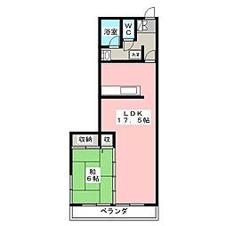パストラルマンション[5階]の間取り