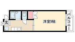 愛知県名古屋市緑区武路町の賃貸マンションの間取り