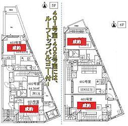JR山手線 恵比寿駅 徒歩16分の賃貸マンション 4階1LDKの間取り