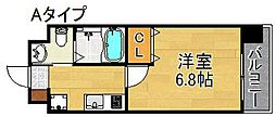 FDS Fiore[4階]の間取り