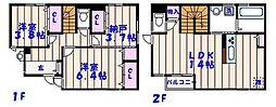 [一戸建] 千葉県市川市塩焼3丁目 の賃貸【/】の間取り