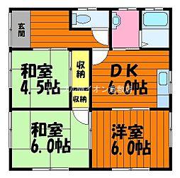 [一戸建] 岡山県倉敷市玉島乙島丁目なし の賃貸【/】の間取り