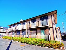 埼玉県ふじみ野市駒西3丁目の賃貸アパートの外観