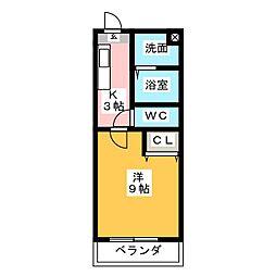 高御所ロイヤルマンション[5階]の間取り