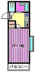 ハイツKCH[3階]の間取り