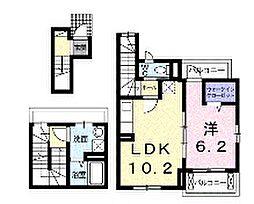 brise・f[3階]の間取り