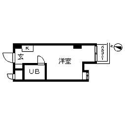 TOP・不動前[0508号室]の間取り
