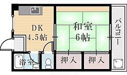 西宮北口駅 4.7万円