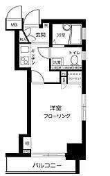 トーシンフェニックス浅草リバーサイド[8階]の間取り