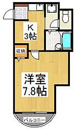 アレーグルハイム[1階]の間取り