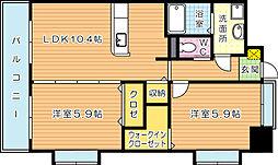 シグナス[10階]の間取り