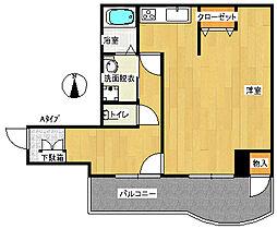 IB玉出[2階]の間取り