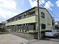 愛知県清須市西枇杷島町日の出の賃貸アパートの外観