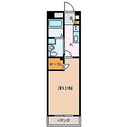 GRAN DUKE鈴鹿[13階]の間取り