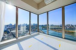 リヴァリエA棟 〜多摩川を望む一大パノラマの景観〜
