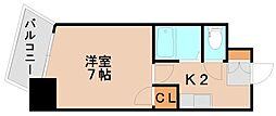 K&K俵ビル10号館[2階]の間取り