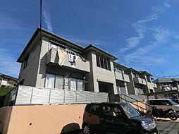 静岡県富士市大渕の賃貸アパートの外観