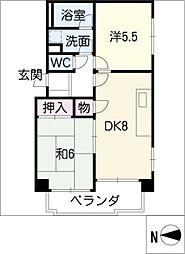 第6渡邊ビル[7階]の間取り