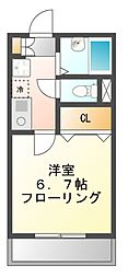 ロングインA・B[1階]の間取り