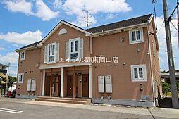 岡山県岡山市東区南古都丁目なしの賃貸アパートの外観