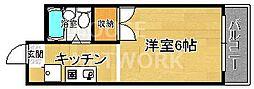 パラドール円町[205号室号室]の間取り