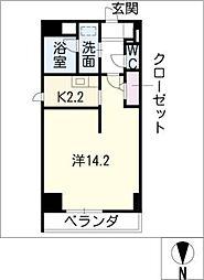 S−FORT葵一丁目[4階]の間取り