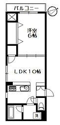 ウィスタリア西荻[4階]の間取り
