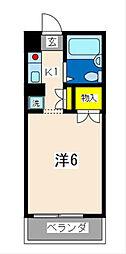 ガーデンヒルズ横浜[304号室]の間取り