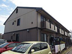 愛知県岡崎市昭和町字高畑の賃貸アパートの外観
