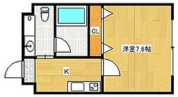 FDS amore[4階]の間取り