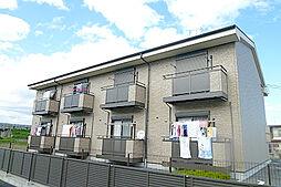 滋賀県栗東市坊袋の賃貸アパートの外観