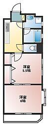 ドエリング東戸塚(ドエリングヒガシトツカ)[4階]の間取り