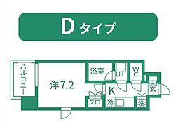 仙台市営南北線 北四番丁駅 徒歩11分の賃貸マンション 4階1Kの間取り