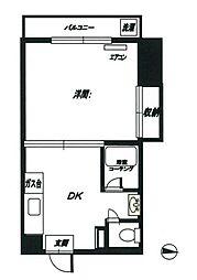 ホーヨー第二ビル[205号室号室]の間取り