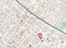地図,1LDK,面積33.06m2,賃料3.9万円,札幌市営東西線 琴似駅 徒歩6分,JR函館本線 琴似駅 徒歩7分,北海道札幌市西区二十四軒四条2丁目7番22号