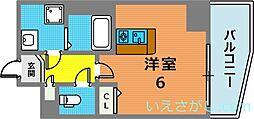 ラナップスクエア神戸県庁前[3階]の間取り