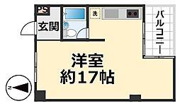 デイグラン武庫之荘[210号室号室]の間取り