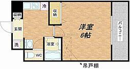 ラナップスクエア大阪城西[7階]の間取り