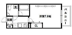 SERENITE(セレニテ)新大阪[5階]の間取り