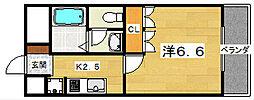 グランドソレーユ[3階]の間取り