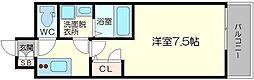 エスプレイス新大阪サウスゲート[14階]の間取り