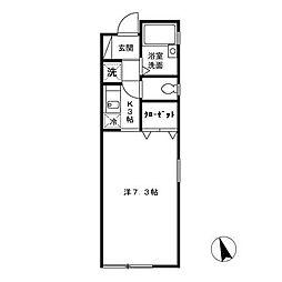 L-エスパシオ[1階]の間取り