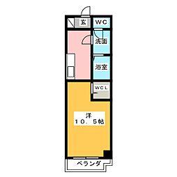 アメニティ栄[2階]の間取り