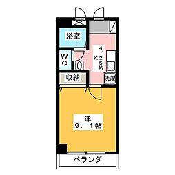 タイショウ7ビル[8階]の間取り