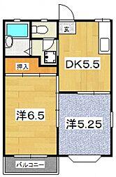 ハイツサンライズ(前川)[205号室号室]の間取り