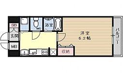 スワンズ京都七条リベルタ[501号室号室]の間取り